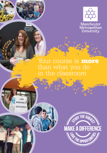 Photo of Make a Difference brochure cover